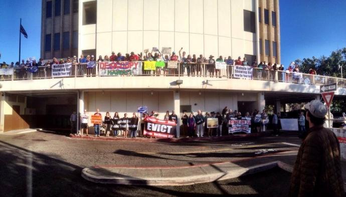 SHAKA anti-GMO demonstration. File photo.
