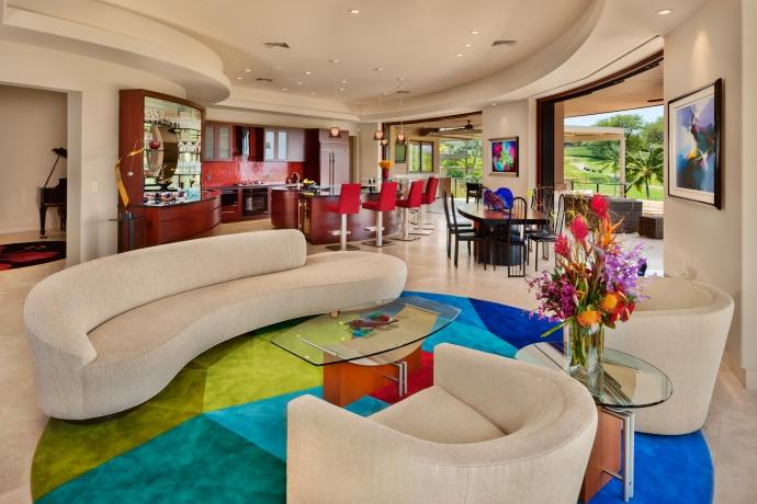Wailea Golf Vistas residence. Courtesy photo.