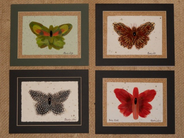 baby butterflies
