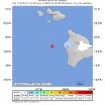 Few Report Feeling 3.9 Quake Off Hawaiʻi Island