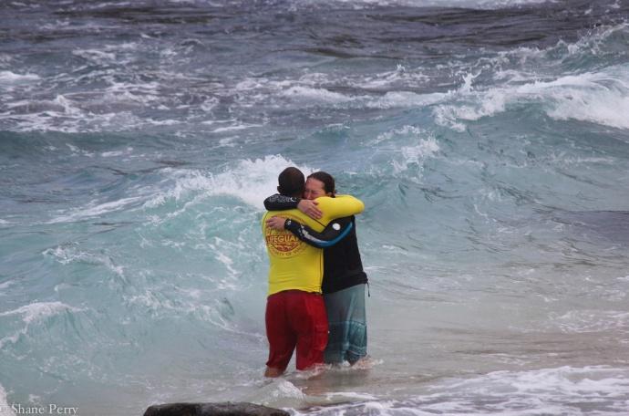 hug at hookipa