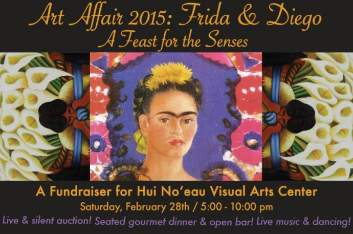 Hui No'eau Art Affair 2015: Frida & Diego
