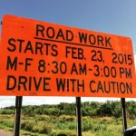 Mokulele Road Work Begins, Single Lane Closure