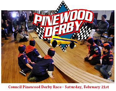 pine wood derby. Courtesy photo.