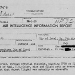 1956 Maui UFO Sighting Report Included in Air Force Files