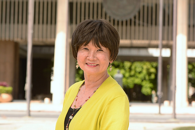 Lynn Fallin. Photo courtesy Office of the Governor State of Hawaiʻi.