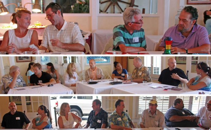 MBB Think Tank Meeting in West Maui.