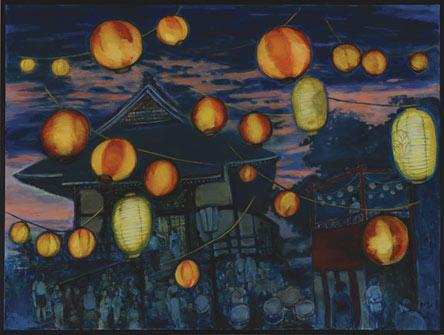 Lighting The Way Home by Sidney Yee.