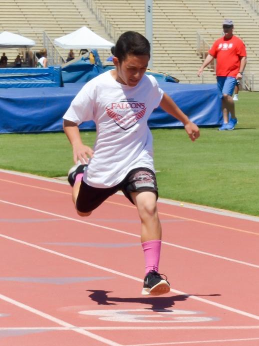 200 meters — Heat 1, 1. Keoki Kong, Maui Waena, 27.27