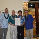 Lt. Governor Recognizes ESPN, Maui's Kanoa Leahey