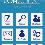 County of Maui Launches New C.O.M.Connect App