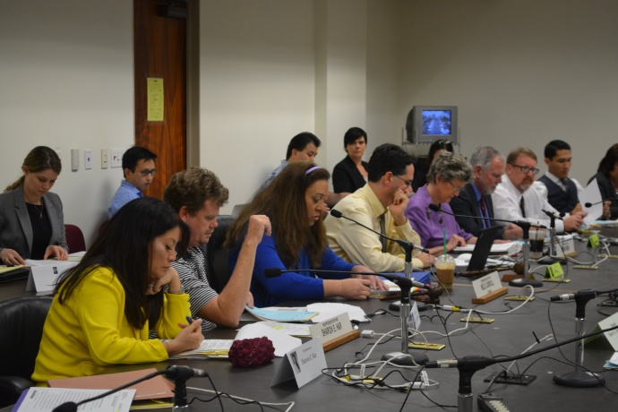 Rep. Mele Carroll as Chair of the Committee on Human Services. Photo courtesy: Hawaiʻi House of Representatives - Majority.