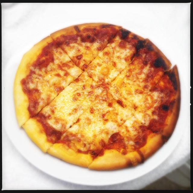 The Formaggio Pizza. Photo by Vanessa Wolf