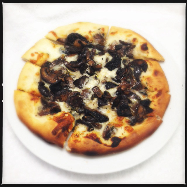 The Maui Mushroom had great toppings, but suffered from flawed execution. Photo by Vanessa Wolf