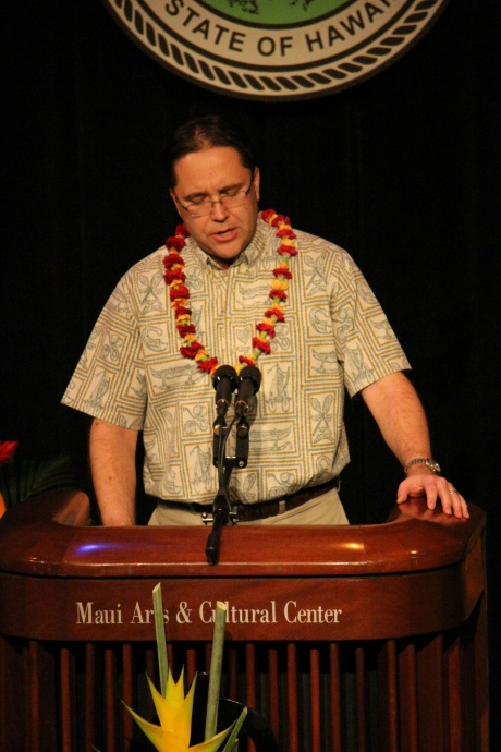 Keith Regan, Managing Director, County of Maui. Photo by Wendy Osher.