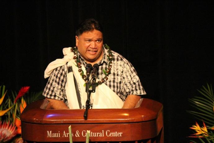 UHMC Chancellor Lui Hokoana. Photo by Wendy Osher.