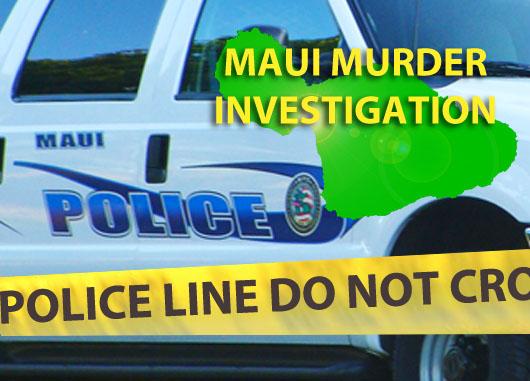 Maui murder investigation. Graphic by Wendy Osher.
