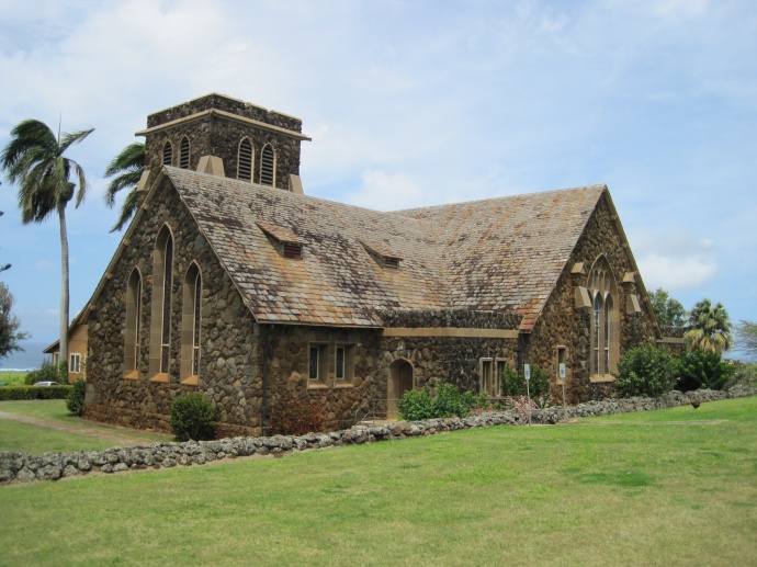Makawao Union Church. Photo credit wikipedia.commons.org.