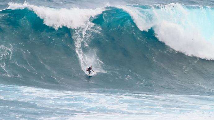 "Sean Skimboarding Pe'ahi ""Jaws"" 3.13.15 / Image: KineoceAndesigns.com"