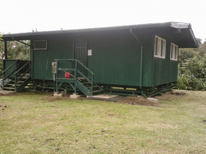 The Department of Land and Natural Resources, Division of State Parks will close the rental cabins at Waianapanapa State Park, effective April 1, 2015, for approximately a year as construction begins on renovations, and new wastewater treatment systems will be under construction. Cabins will not be available for rental during this time, although camping in tents will still be allowed by permit. Photos by Division of State Parks.