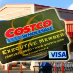 Costco Credit Card. Graphic/photos by Wendy Osher.
