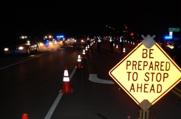 DUI checkpoint. Photo courtesy Big Island Now.