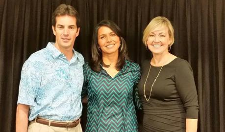Meet and Greet with Maui Hotel & Lodging Charity Walk Team Leaders. Photo courtesy Rep. Tulsi Gabbard.