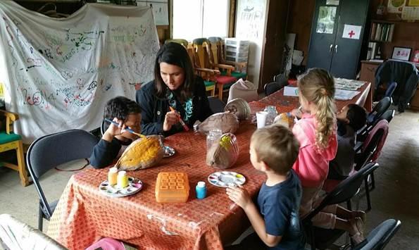 Visit to Maui Farm with Executive Director Paula Ambre. Photo courtesy Rep. Tulsi Gabbard.