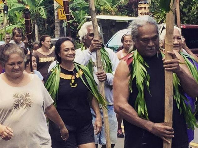 Kaʻapuni 2015 in Hāna Maui, March 2, 2015. Courtesy photo: T.L. Souza.