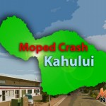 Kahului Man Critically Injured in Moped Crash