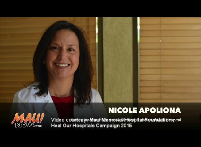 Nicole Apoliona.