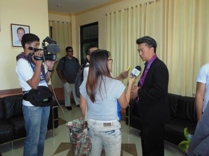 Lt. Governor Leads Trade Mission. Photo courtesy Lt. Governor Shan Tsutsui.