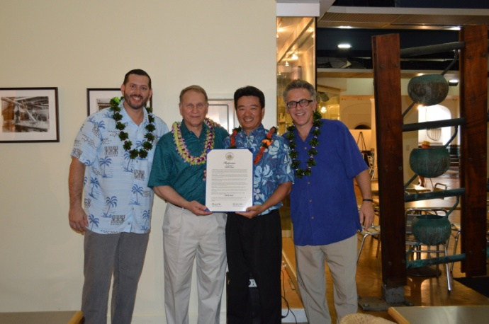 Sports Initiative Continues to Develop. Photo courtesy Lt. Governor Shan Tsutsui.