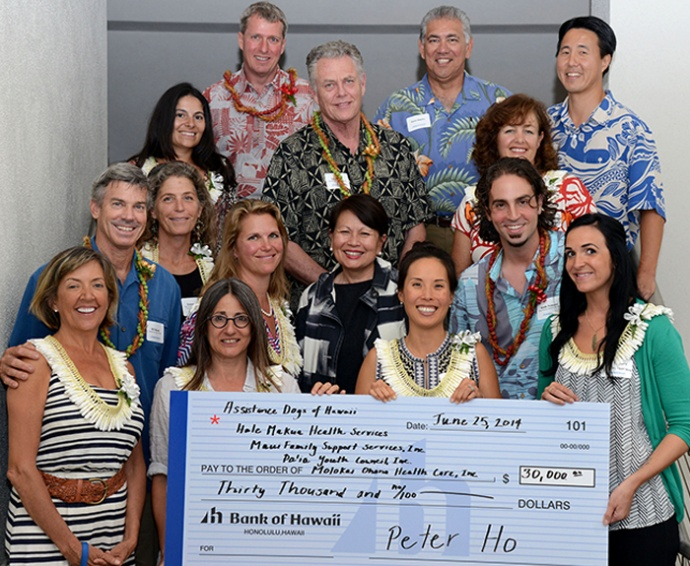Bank of Hawaii Foundation announced the recipients of the 2014 Bank of Hawaii Mike Lyons Maui Community awards. Courtesy photo.