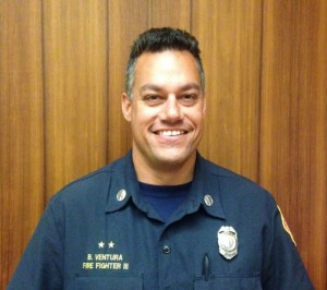 Brad Ventura. Photo courtesy Maui Department of Fire & Public Safety.