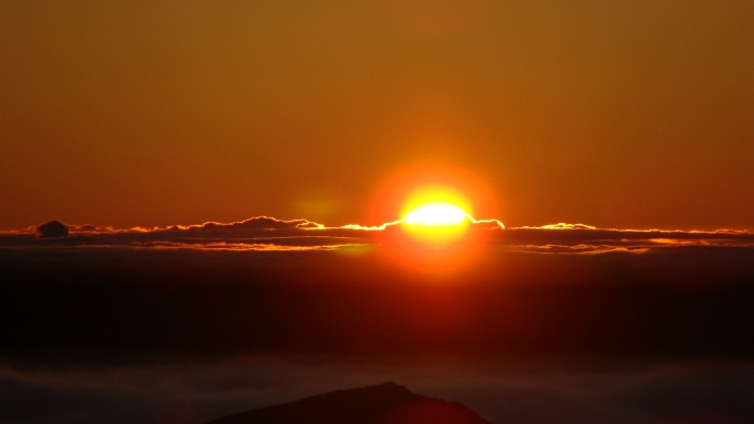 Sunrise at Haleakalā. Photo by Wendy Osher.