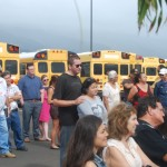 Blessing Held for New MEO Transportation Facility, Buses