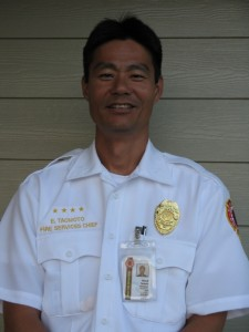 Edward Taomoto. Photo courtesy Maui Department of Fire & Public Safety.