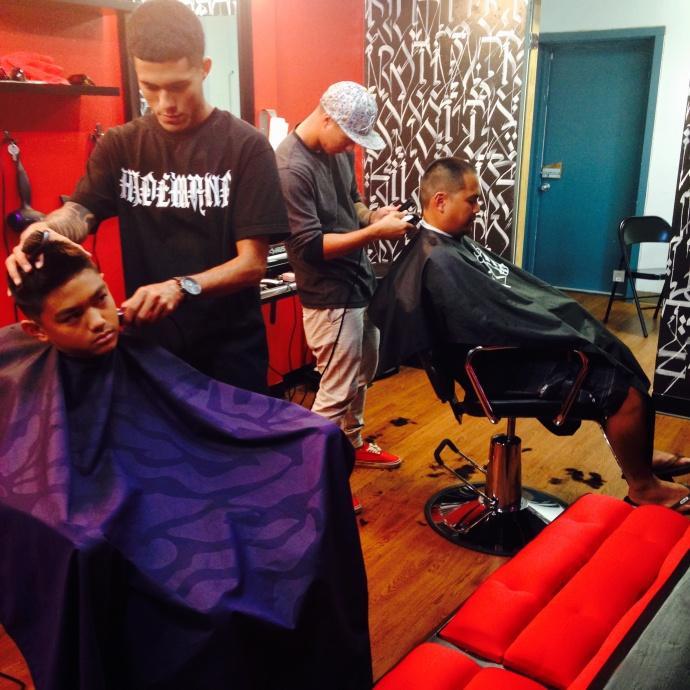 The Empire Maui: Mauiʻs premiere Barber Shop. Photo courtesy Brandee Carvalho.