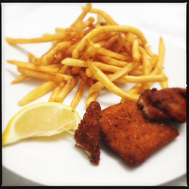 The Fish and Chips are decent, just not necessarily what one thinks of when they think of Fish and Chips. Photo by Vanessa Wolf