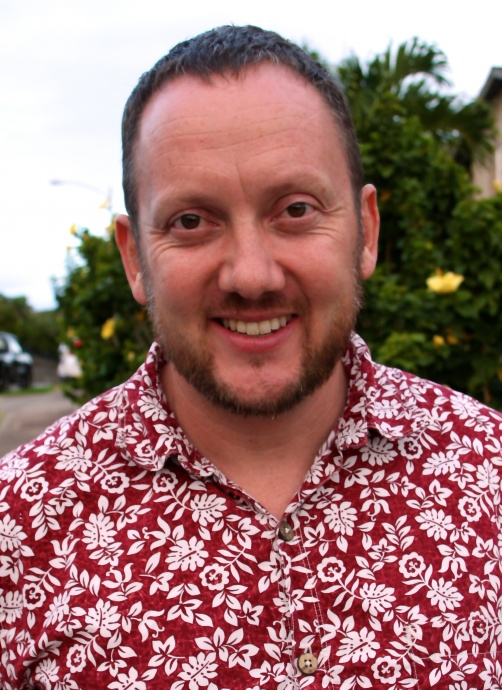 One of the candidates for HSTA president, Justin Hughey, is a special education teacher from Maui's Kamehameha III Elementary School in West Maui.