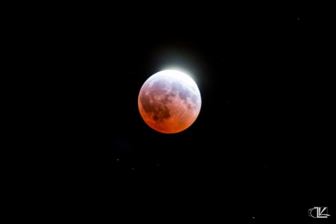 April 4, 2015 total lunar eclipse / Image: Lance Kishimoto