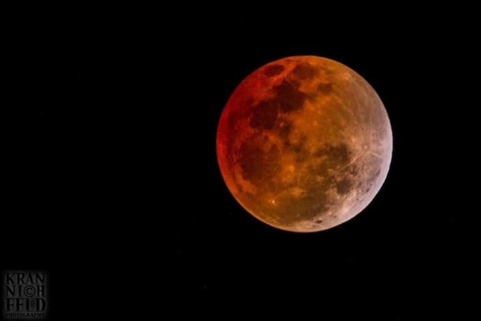 Total Lunar Eclipse Viewable in Hawaiʻi Overnight