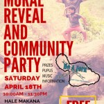 "Maui ""Be A Jerk"" Mural Reveal, April 18th"