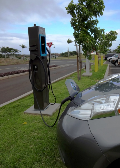 OpConnect EV charging. Courtesy image.