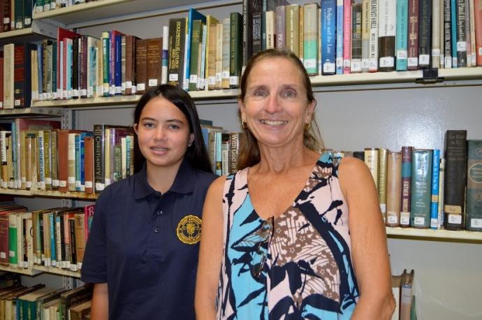 SAS photo Hope Otani and Mary Rodriguez