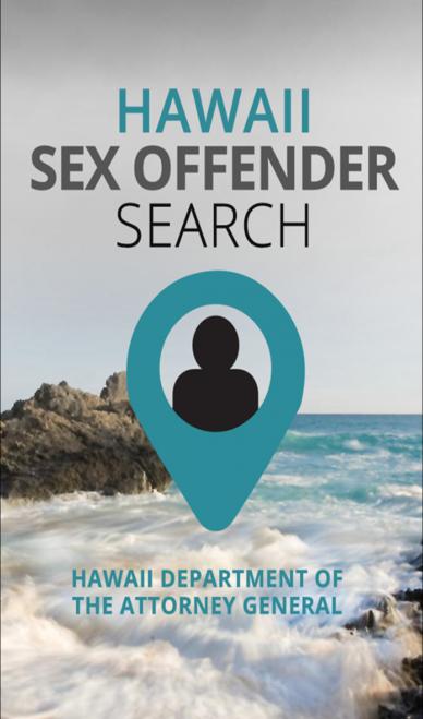 Hawaiʻi Sex Offender Search App.