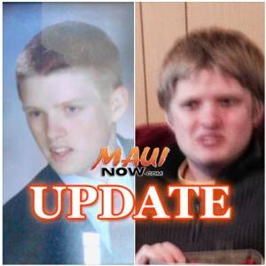 Gerald Matthew Pritchard UPDATE. Missing person images courtesy Maui Police Department.