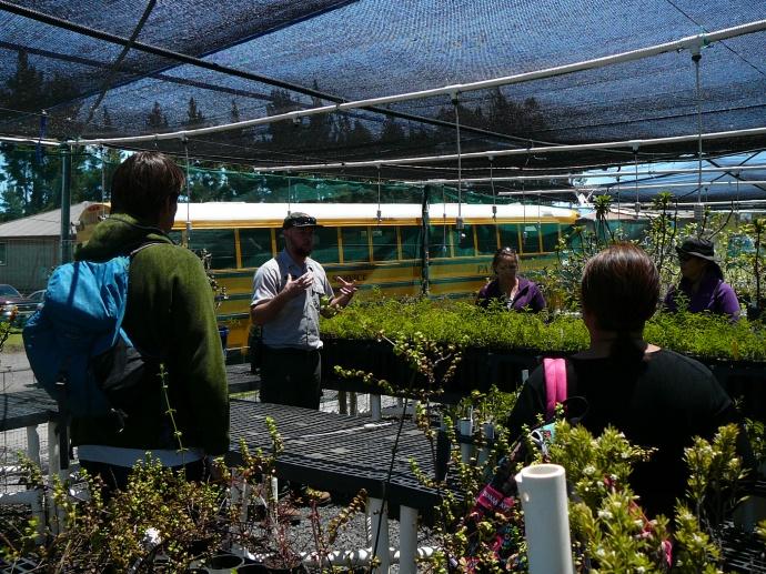 Teachers learn about park resources during a training workshop.  Photo courtesy Haleakalā National Park.