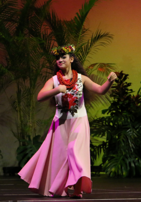 Miss Keiki Hula 2014 Keaolani Hosino performs at 3 p.m. at the event at the Keokea Marketplace.